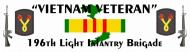 Expressions Bumper Sticker - 196th light Infantry Brigade