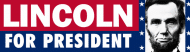 Expressions Bumper Sticker - Abraham Lincoln For President