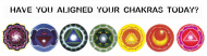 Bumper Sticker - Aligned Chakras