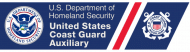 Bumper Sticker - DHS Coast Guard Auxiliary
