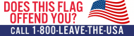 Expressions Bumper Sticker - Does The American Flag Offed You