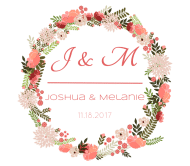 Wedding Beer Label - Floral Wreath