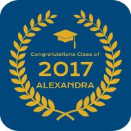 Graduations Drink Coaster - Graduate Honor
