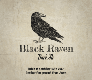 Expressions Beer Label - Black Raven