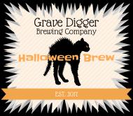 Holiday Beer Label - Halloween Brew