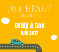 Expressions Beer Label - End Of The Road