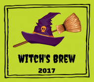 Holiday Beer Label - Broomstick Brew