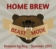 Expressions Beer Label - Beast Mode