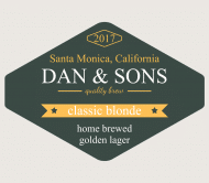 Expressions Beer Label - Classic Blonde