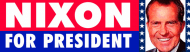 Bumper Sticker - Richard Nixon For President