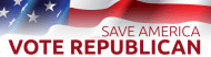Bumper Sticker - Save America Vote Republican Romney Ryan 2012