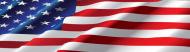 Bumper Sticker - Waving American Flag