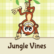 Birthday Sticker - Jungle