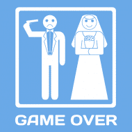 Expressions Sticker - Game Over