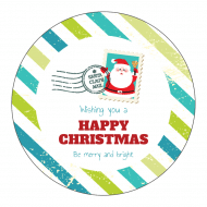 Holiday Sticker - Letter To Santa