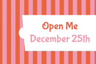 Expressions Gift Tag - Open Me