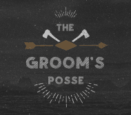 Wedding Beer Label - The Groom's Posse