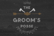 Wedding Mini Wine Label - The Groom's Posse