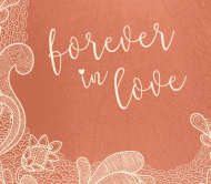 Anniversary Beer Label - Forever Love