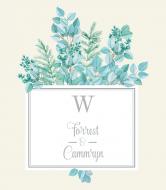 Wedding Wine Label - Eucalyptus Green