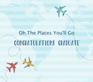 Graduations Beer Label - The Places You'll Go