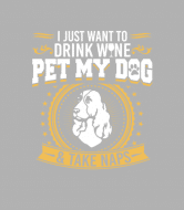 Wine Label - Cocker Spaniel2 Drink Wine