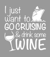 Wine Label - Cruising And Wine