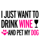 Wine Label - Dog