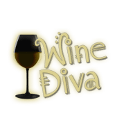 Wine Label - Glowing Wine Diva
