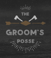 Wedding Wine Label - The Groom's Posse
