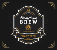 Beer Label - Hometown Brew