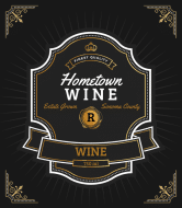 Wine Label - Hometown Brew