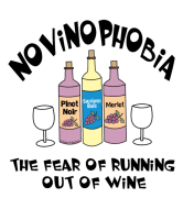 Wine Label - Novinophobia Bottles