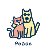 Wine Label - Peace