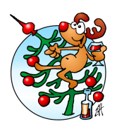 Wine Label - Rudolph The Red Nosed Reindeer
