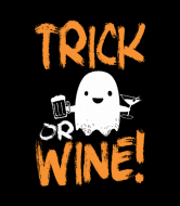 Wine Label - Trick Or Wine Halloween