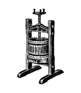 Wine Label - Wine Press