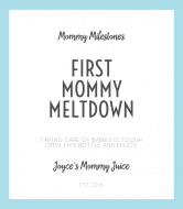 Baby Wine Label - Mommy Meltdown