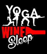 Wine Label - Yoga Wine Sleep