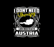 Beer Label - Austria I Just Need To Go To Austria No Therapy