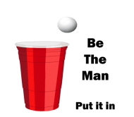 Beer Label - Be The Man
