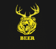 Beer Label - Bear Deer