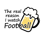 Beer Label - Beer And Football