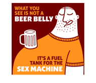 Beer Label - Beer Belly 2
