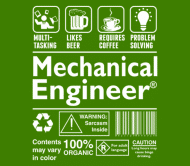 Beer Label - Beer Coffee Problem Solving Mechanical Engineer