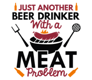 Beer Label - Beer Drinker Meat