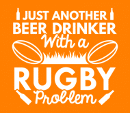 Beer Label - Beer Drinker Rugby