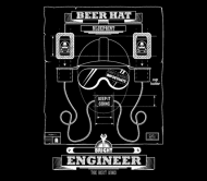 Beer Label - Beer Hat For Engineers