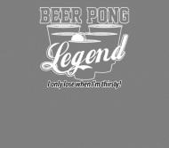 Beer Label - Beer Pong Legend