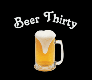Beer Label - Beer Thirty